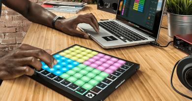 Novation Launchpad X with 64 RGB velocity sensitive pads