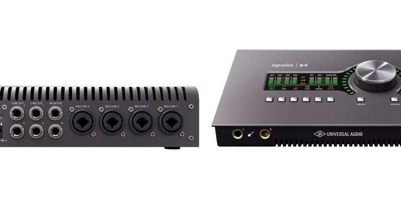 Universal Audio Apollo X4 audio interface