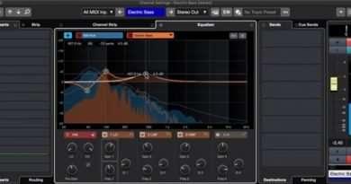Cubase 10.5 Spectral Comparison EQ Mode