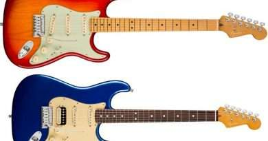 Fender American Ultra series Stratocaster SSS and HSS