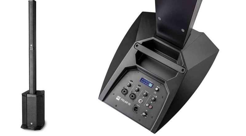 HK Audio Polar 10 pillar PA speaker system
