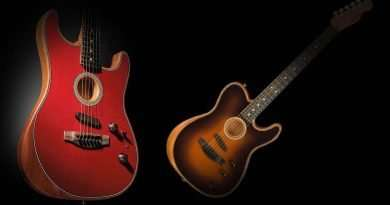 Difference between Fender American Acoustasonic Stratocaster vs Telecaster