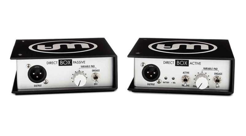 Warm Audio PASSIVE ACTIVE DI Direct BOXES