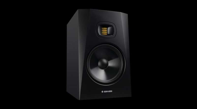 "Adam Audio T8V Active Studio Monitor with 8"" woofer and 2-way design"