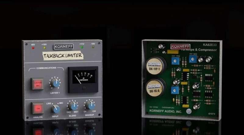 New Plugin: Korneff Audio Talkback Limiter