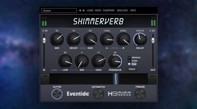 Eventide Audio ShimmerVerb Plugin